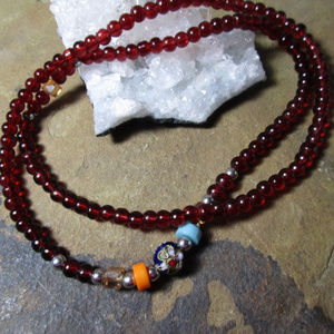 Jewelry - Acrylic prayer mala yoga mala necklace bracelet